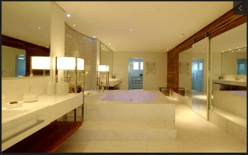 Casa de Ana Hickmann possui ambientes grandes e bem arejados (Imagem: Divulgação)