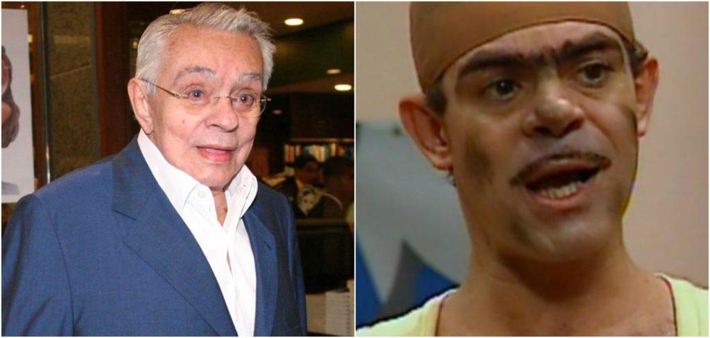 Chico Anysio deixou Lug de Paula fora do testamento, que agora foi anulado (Reprodução)