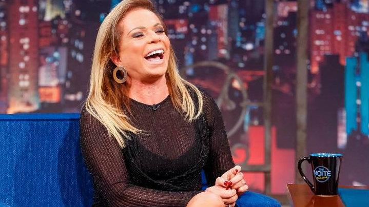 A famosa apresentadora do SBT, Christina Rocha (Foto: Reprodução)