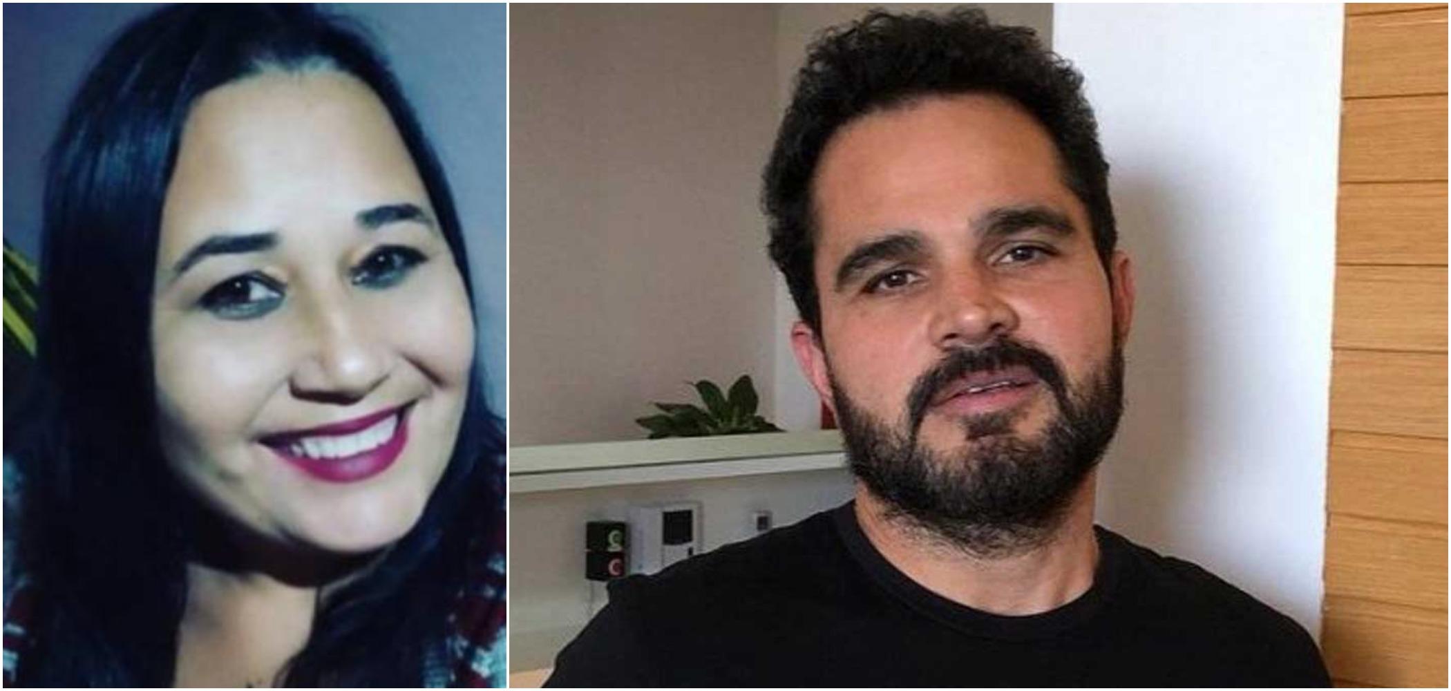 Cleo Loyola voltou a falar da relação com Luciano Camargo, seu ex-marido (Reprodução)
