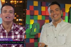 Leo Dias deu o que falar ao vivo na RedeTV (Foto montagem)