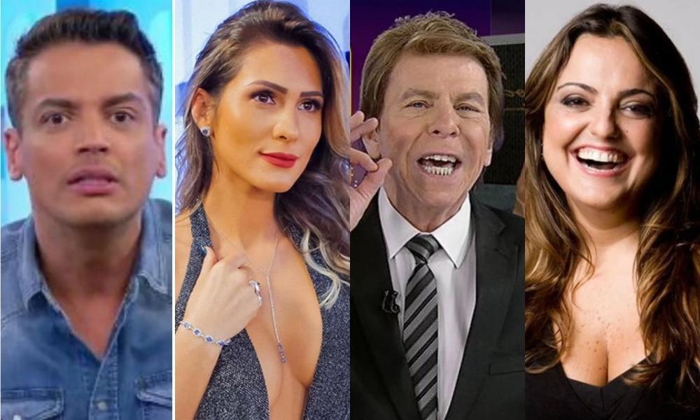 Leo Dias, Lívia Andrade, Nelson Rubens e Fabíola Reipert (Foto: Reprodução)