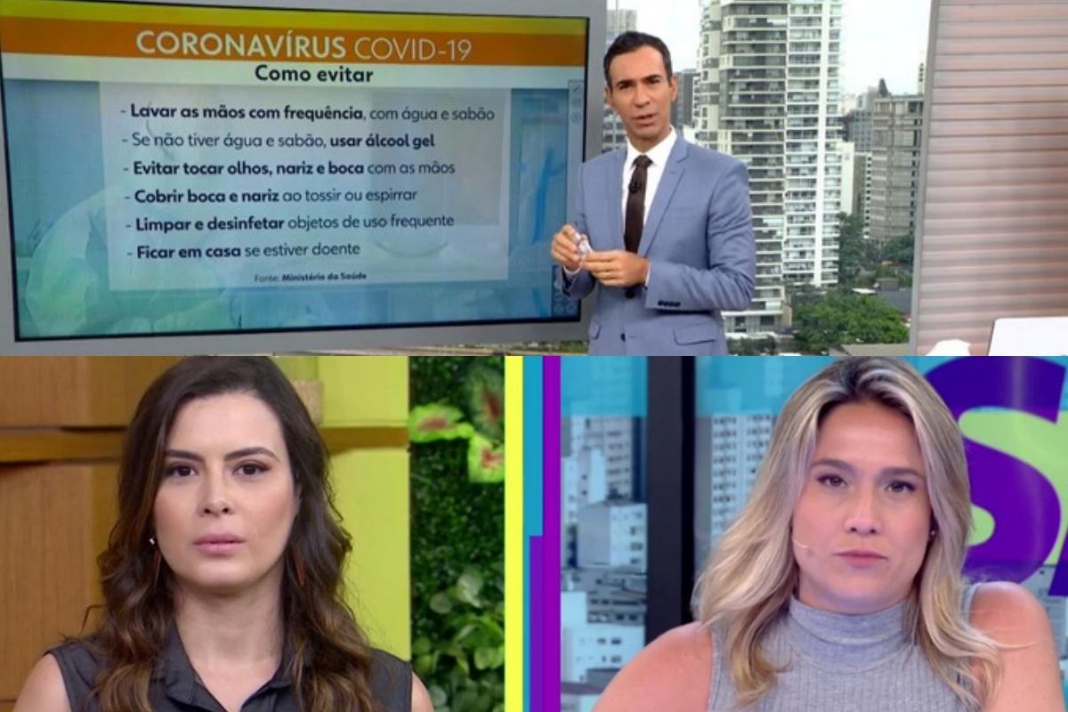 Apresentadores da Globo (Foto: Reprodução) audiências