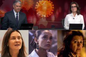 Jornal Nacional e Amor de Mãe explodem (Foto: Globo)