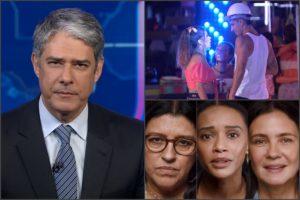 Com calamidade, Globo toca o terror com audiências explosivas de Amor de Mãe, JN e BBB20; consolidados 18/03/2020