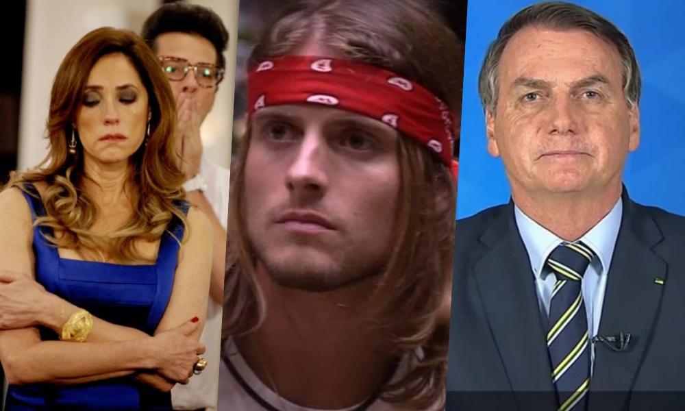 Fina Estampa, BBB20 e pronunciamento do Bolsonaro explodem em audiência (Foto: Reprodução) audiências