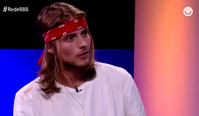 Daniel durante entrevista após o BBB20 (Foto: Reprodução)