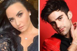 Demi Lovato engata uma relação com Max Ehrich, astro de High School Musical 3 (Foto: Reprodução)
