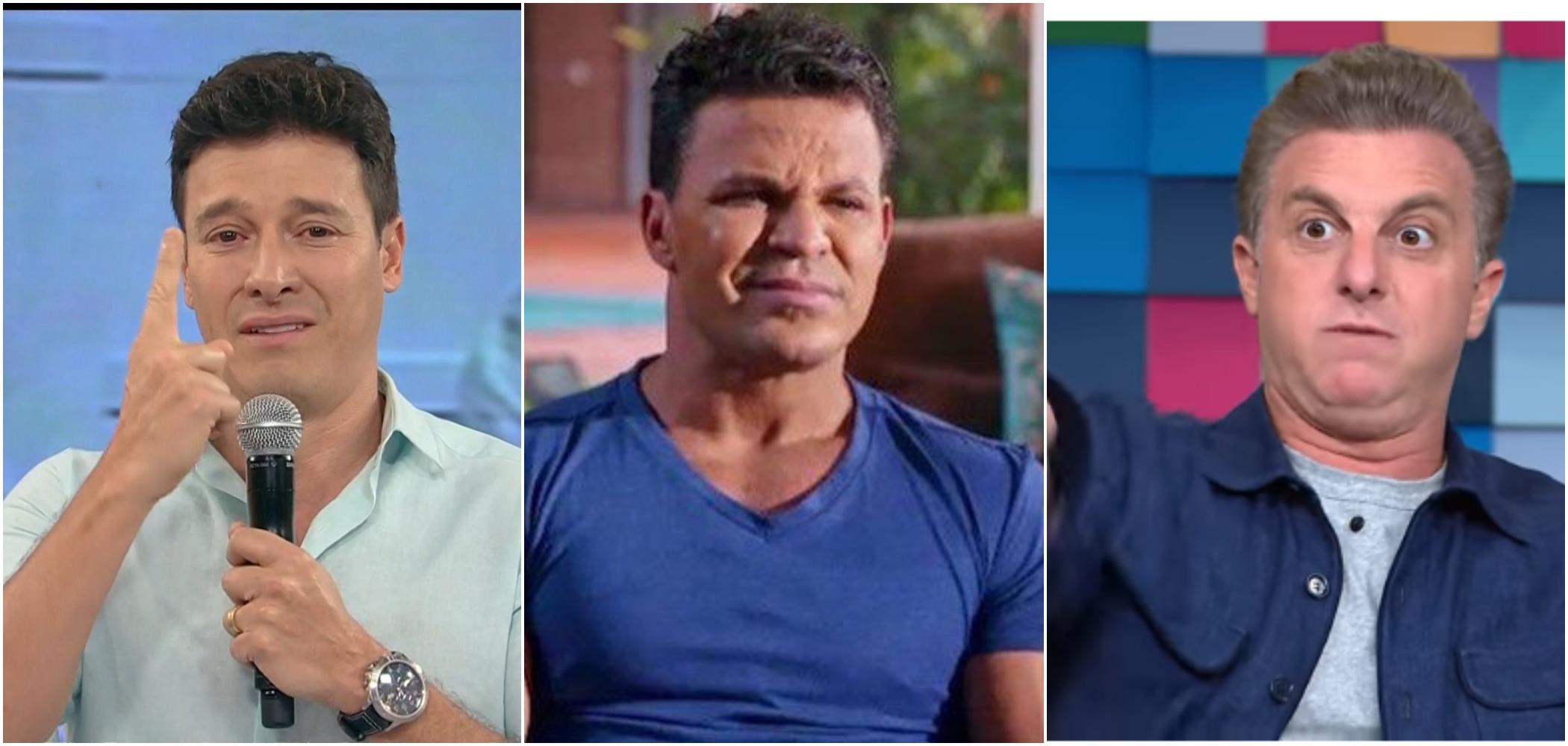 Eduardo Costa criticou Rodrigo Faro e Luciano Huck (Reprodução)