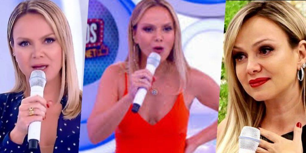 Eliana teve comportamento exposto nos bastidores do SBT (Foto montagem: TV Foco)