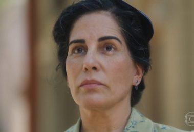Gloria Pires (Lola), protagonista de Éramos Seis no remake da Globo, que teve a história revirada pela autora (Foto: Reprodução/Globo)