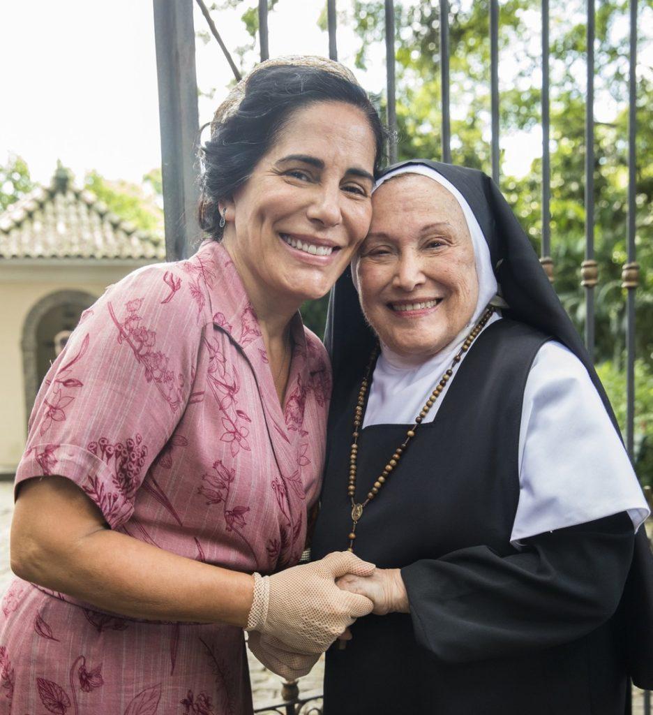 Glória Pires e Nicette Bruno (Foto: Globo)