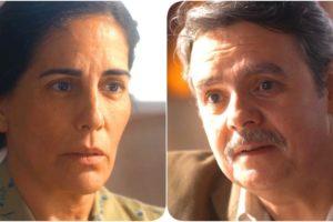 Afonso e Lola na novela Éramos Seis