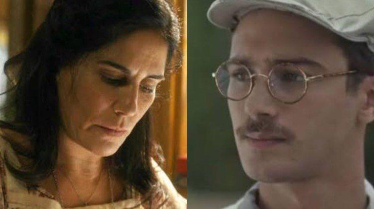 Éramos Seis, Julinho fará desfeita para mãe no penúltimo capítulo (Montagem: TV Foco)