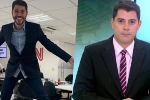 Evaristo Costa deu o que falar no lançamento do canal CNN Brasil (Foto montagem: TV Foco)