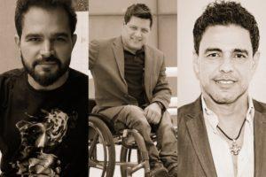 Luciano, Wellington e Zezé Di Camargo (Foto: Reprodução)