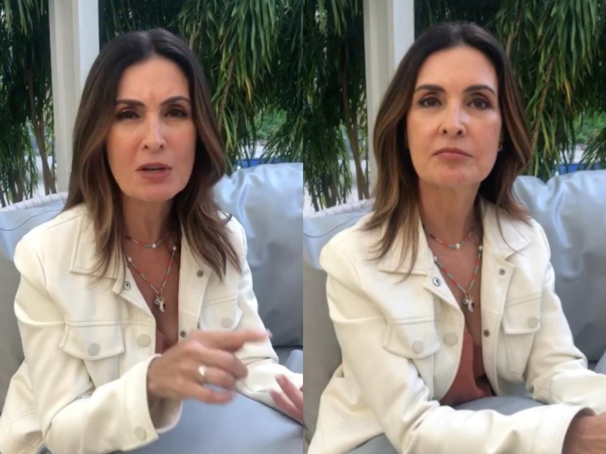A famosa apresentadora do Encontro, da Globo, Fátima Bernardes se tornou um dos assuntos mais comentados na internet após compartilhar uma foto rara de seus pais para falar sobre o coronavírus (Foto: reprodução/Instagram/montagem TV Foco)