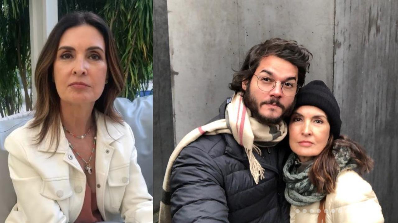 Fátima Bernardes e Túlio Gadêlha (Foto: Reprodução/Instagram/Montagem TV Foco)