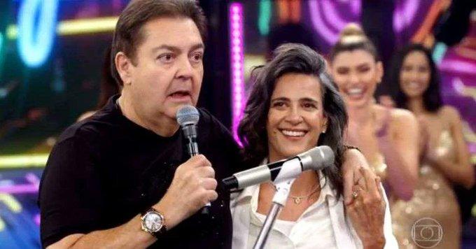 O apresentador Faustão no seu programa de reprises - Foto: Reprodução