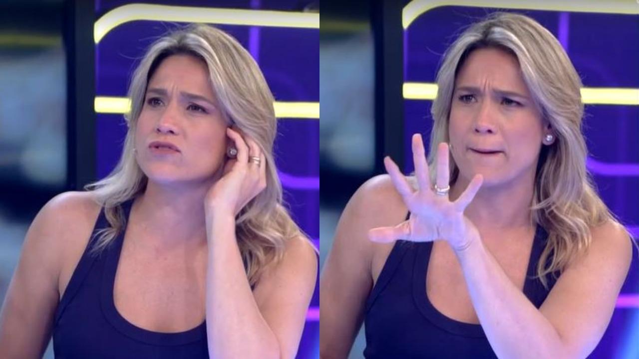 Fernanda Gentil voltou hoje ao Se Joga (Foto: Reprodução/TV Globo)