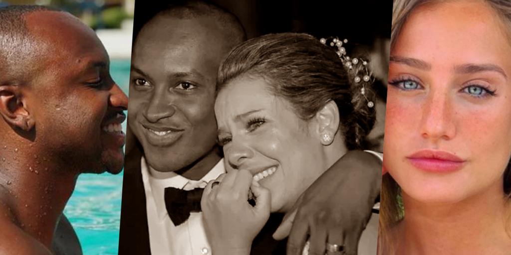 Fernanda Souza e Thiaguinho estariam tentando reatar relação, mas novidade envolvendo cantor e atriz muda tudo (Foto montagem: TV Foco)
