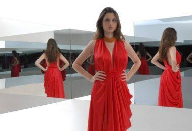 A modelo que desfilou na abertura original de Fina Estampa - Foto: Reprodução