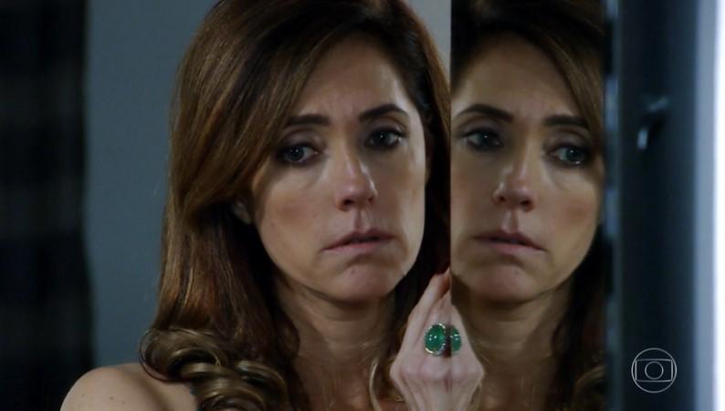 Christiane Torloni (Tereza Cristina) em cena de Fina Estampa; reprise acumula mais audiência que Amor de Mãe (Foto: Reprodução/Globo)