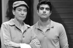 Lilia Cabral (Griselda) e Caio Castro (Antenor) em Fina Estampa; novela motivou fim de amizade de autores da Globo (Foto: Globo/Alex Carvalho)