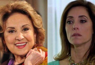 Fina Estampa, Íris volta e ameaça segredo de Tereza Cristina (Montagem: TV Foco)