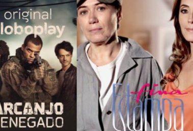 """Globo opta por reexibição de novela morna e """"esconde"""" grandes produções no Globoplay (Montagem: TV Foco)"""