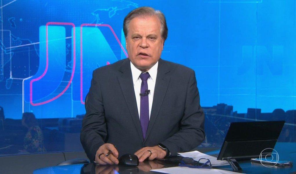 A Globo decidiu afastar temporariamente âncoras como Chico Pinheiro do Jornal Nacional - Foto: Reprodução