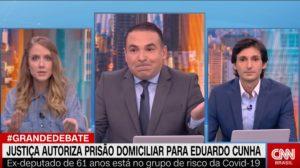 há 1 dia Observatório da TV - Uol Gabriela Prioli contraria âncora da CNN Brasil (Foto: Reprodução)