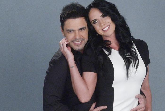 Zezé Di Camargo e Graciele Lacerda