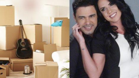 Graciele Lacerda e Zezé Di Camargo já estão de malas prontas (Foto: Reprodução/Ilustração)