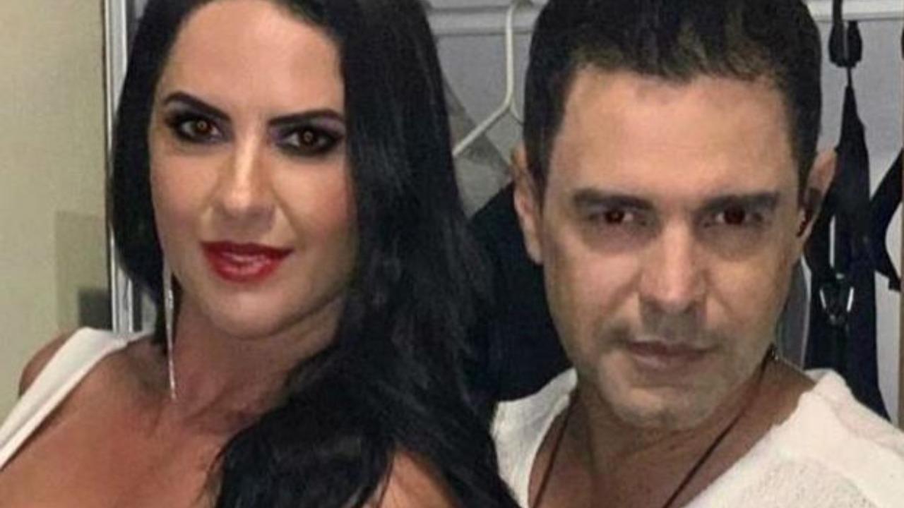 Graciele Lacerda e Zezé Di Camargo foram alvos de novo ataque (Foto: Reprodução/Instagram)
