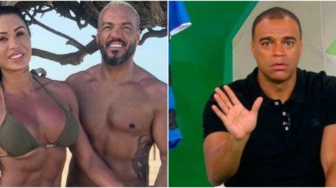 Marido de Gracyanne Barbosa, Belo disse que pagará valor devido a Denilson (Reprodução)