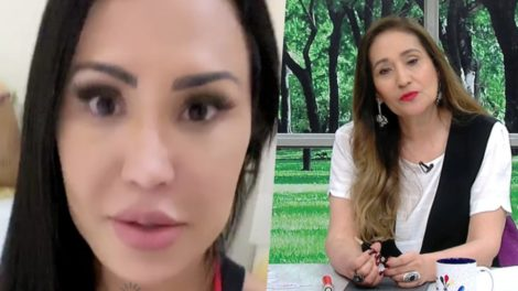 Gracyanne Barbosa resolveu criticar Sonia Abrão do A Tarde é Sua (Foto reprodução)