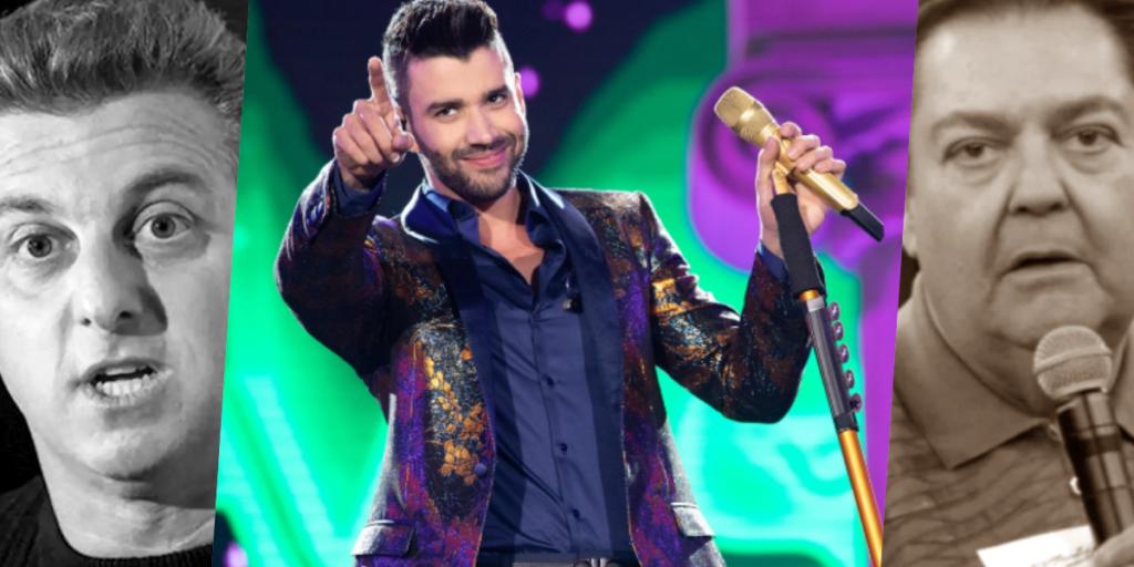 O cantor Gusttavo Lima virou motivo de revolta nos bastidores da Globo (Foto montagem: TV Foco)