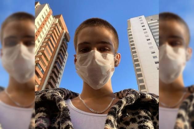 João Guilherme desobedeceu ordem e foi para a rua (Foto: Reprodução/ Instagram)