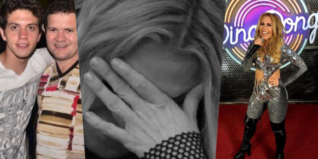 Joelma deu o que falar ao faltar na formatura do próprio filho (Foto montagem: TV Foco)