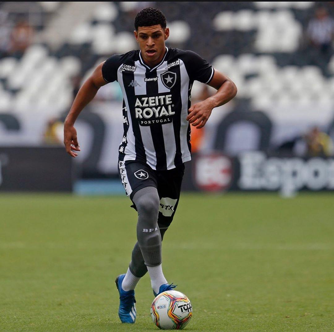 O jogador Luis Henrique do Botafogo (Reprodução: Instagram)