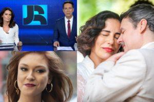 Éramos Seis, Jornal da Record e Amor Sem Igual foram destaques de audiência (Foto: Reprodução/Globo/Record/Montagem TV Foco)