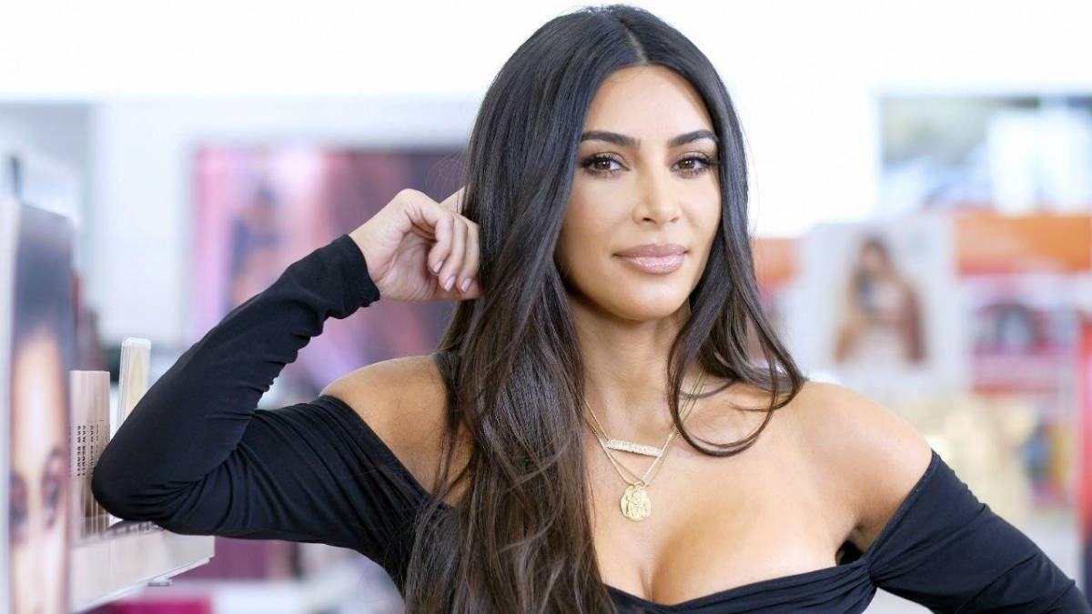 Kim Kardashian comenta boatos sobre implantes no seu bumbum (Foto: Reprodução)