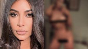 Vazam fotos íntimas de Kim Kardashian na web (Foto: Reprodução)