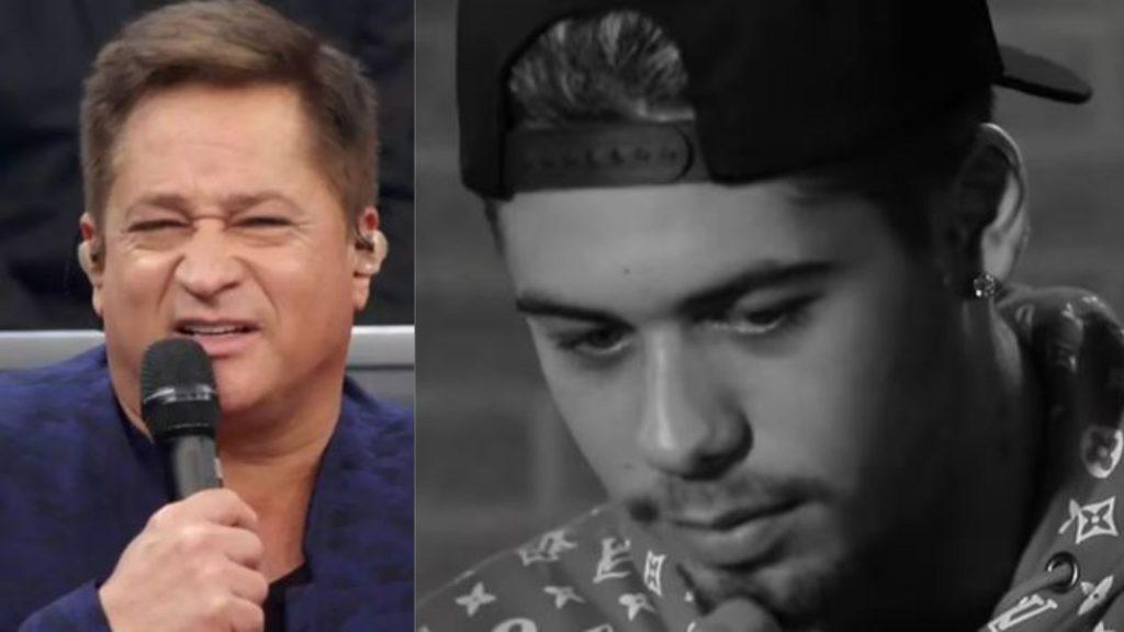 Leonardo é pai de Zé Felipe (Foto: Reprodução/TV Globo/YouTube/Montagem TV Foco)