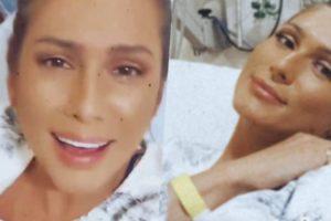 Lívia Andrade foi parar no hospital logo após comandar o Fofocalizando (Foto reprodução)