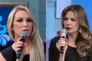 Luciana Gimenez e Rebeca no Superpop (Foto: reprodução)