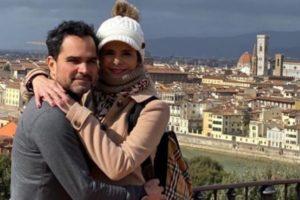 Luciano Camargo e sua esposa, Flávia (Foto: Reprodução/Instagram)