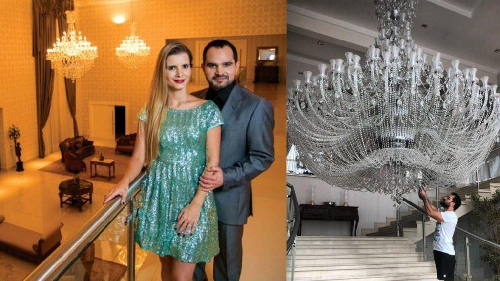 Luciano Camargo e Flávia Camargo (Foto: Reprodução/Instagram/Montagem TV Foco)