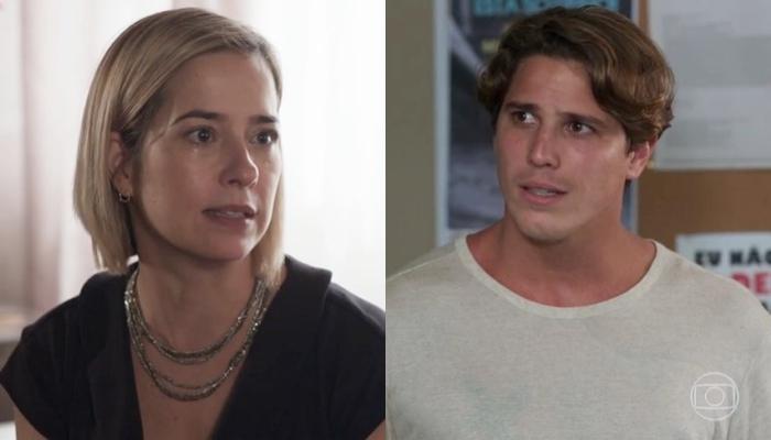 Lígia (Paloma Duarte) perde Nina para Rui (Romulo Arantes Neto) em Malhação: Toda Forma de Amar (Foto: Reprodução/Globo)